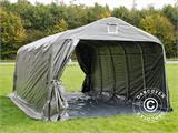 Portable Garage PRO 3.6x6.0x2.68 m PE, with ground cover, Grey - 3