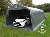 Portable Garage PRO  3.6x8.4x2.68 m PVC, with ground cover, Grey - 2