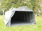Portable Garage PRO  3.6x8.4x2.68 m PVC, with ground cover, Grey - 4