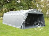 Portable Garage PRO  3.6x8.4x2.68 m PVC, with ground cover, Grey - 5
