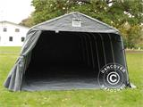 Portable Garage PRO 3.6x8.4x2.68 m PVC, with ground cover, Grey - 11