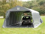 Portable Garage PRO 3.6x8.4x2.68 m PVC, with ground cover, Grey - 12