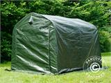 Storage tent PRO 2.4x2.4x2 m PE, with ground cover, Green/Grey - 8