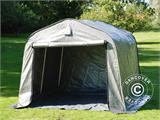 Storage tent PRO 2.4x2.4x2 m PE, with ground cover, Grey - 1