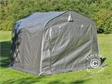 Storage tent PRO 2.4x2.4x2 m PE, with ground cover, Grey - 2
