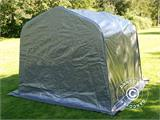 Storage tent PRO 2.4x2.4x2 m PE, with ground cover, Grey - 3