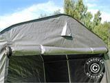 Storage tent PRO 2.4x2.4x2 m PE, with ground cover, Grey - 4
