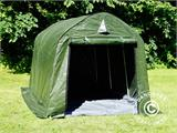 Storage tent PRO 2x3x2 m PE, with ground cover, Green/Grey - 10