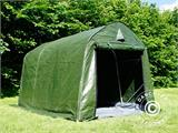Storage tent PRO 2x3x2 m PE, with ground cover, Green/Grey - 12