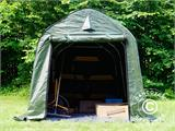 Storage tent PRO 2x3x2 m PE, with ground cover, Green/Grey - 13