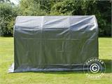 Storage tent PRO 2x3x2 m PE, with ground cover, Grey - 2