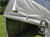 Storage tent PRO 2x3x2 m PE, with ground cover, Grey - 4