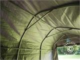 Storage tent PRO 2x3x2 m PE, with ground cover, Grey - 7