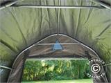 Storage tent PRO 2x3x2 m PE, with ground cover, Grey - 8