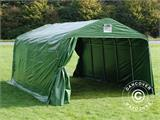 Portable Garage PRO 3.6x6x2.68 m PVC, Green - 2