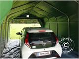 Portable Garage PRO 3.6x6x2.68 m PVC, with ground cover, Green/Grey - 2