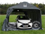 Portable garage PRO 3.6x6x2.7 m PVC with ground cover, Grey - 7