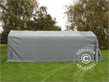 Portable Garage PRO 3.6x7.2x2.68 m PVC, Grey - 3