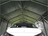 Portable Garage PRO 3.6x7.2x2.68 m PVC, Grey - 5