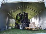 Storage shelter PRO 4x12x2x3.1 m, PVC, Grey - 19