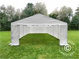 Storage Tent Basic 2-in-1, 4x10 m PE, White - 2