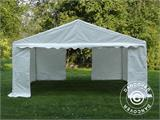 Storage Tent Basic 2-in-1, 5x6 m PE, White - 2