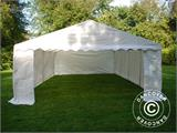 Storage Tent Basic 2-in-1, 5x8 m PE, White - 2