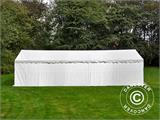 Storage Tent Basic 2-in-1, 6x12 m PE, White - 1