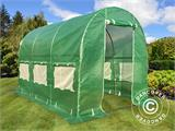 Polytunnel Greenhouse 2x3x2 m, Green - 1