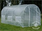 Polytunnel Greenhouse 2x4.5x2 m, Transparent  - 5