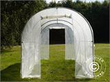 Polytunnel Greenhouse 2x4.5x2 m, Transparent  - 7