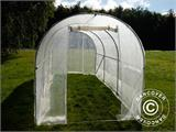 Polytunnel Greenhouse 2x4.5x2 m, Transparent  - 10