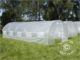 Polytunnel Greenhouse 3x8x2 m, Transparent - 1