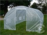 Polytunnel Greenhouse 3x6x2 m, Transparent - 7