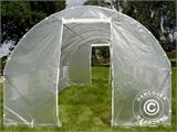 Polytunnel Greenhouse 3x6x2 m, Transparent - 8
