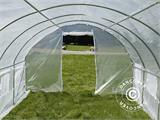 Polytunnel Greenhouse 3x4.5x2 m, Transparent - 15