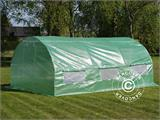 Polytunnel Greenhouse 3x4.5x2 m, Green - 1