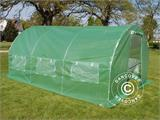 Polytunnel Greenhouse 3x4.5x2 m, Green - 2