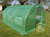 Polytunnel Greenhouse 3x4.5x2 m, Green - 3