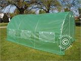 Polytunnel Greenhouse 3x4.5x2 m, Green - 5