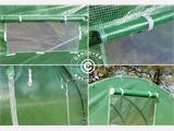 Polytunnel Greenhouse 3x8x2m, Green - 9