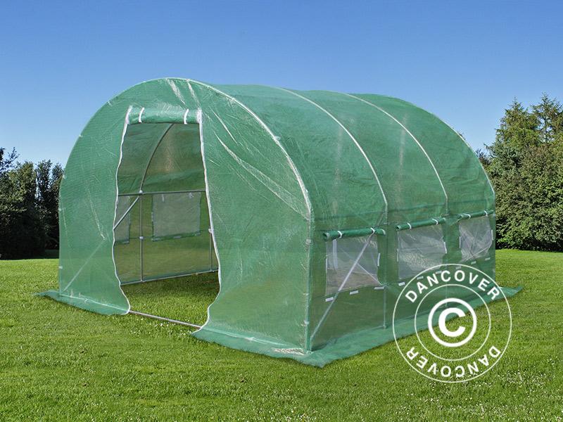 Polytunnel Greenhouse 3x3x2 M 9 M 178 Green Dancovershop Ie