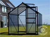 Greenhouse Polycarbonate 3.64m², 1.9x1.92x2.01 m, Green - 1