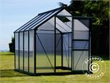 Greenhouse Polycarbonate 3.64m², 1.9x1.92x2.01 m, Green - 8