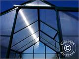 Greenhouse Polycarbonate 3.64m², 1.9x1.92x2.01 m, Green - 12