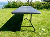 Folding Table 240x76x74 cm, Black (10 pcs.) - 16