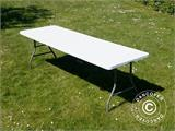 Folding Table 240x76x74 cm, Light Grey (25 pcs.) - 4