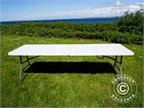 Folding Table 240x76x74 cm, Light Grey (25 pcs.) - 10