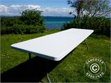 Folding Table 240x76x74 cm, Light Grey (25 pcs.) - 16