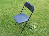 Folding Chair, black 44x44x80 cm, 8 pcs. - 11